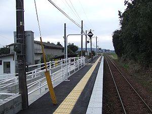 蝦野上江站