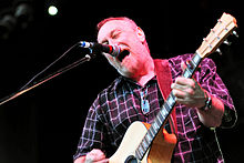 Ed Kuepper playing at the Red Hill Auditorium (2011)