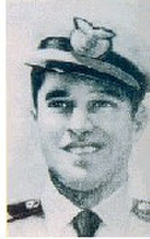 José Quiñones Gonzales - Quiñones in a Military portrait