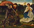 Edward Burne-Jones - The fight- St George kills the dragon VI - Google Art Project.jpg