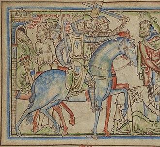 Palfrey - Image of a palfrey in ambling gait