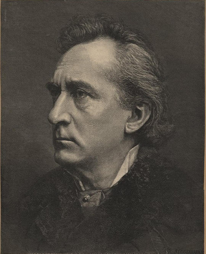 Edwin Booth - by R. Staudenbaur