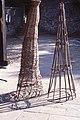Eel trap construction. St Fagans. 1979 (38258033616).jpg