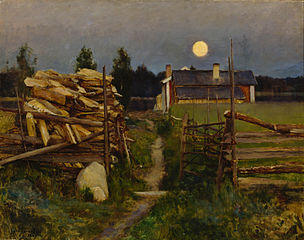 Summer Night Moon