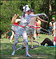 Eeyore's Birthday Party 2009 Hoop Kitty.jpg