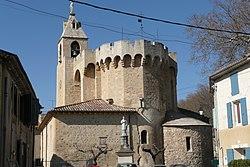 Eglise à Saint Andiol.JPG