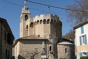 Saint-Andiol - The church in Saint-Andiol