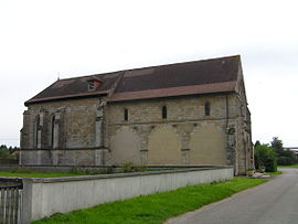 The church in Ambrières