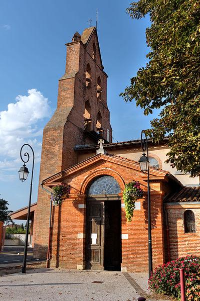 Église Saint-Germier entrée