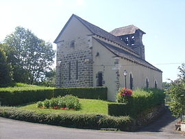 The church of Saint-Roch, in Vézac