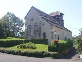 Vézac, Cantal - The church of Saint-Roch, in Vézac