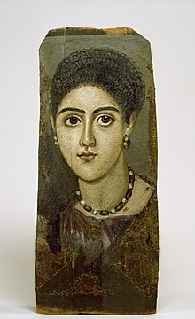 Fayum mummy portraits - Wikipedia