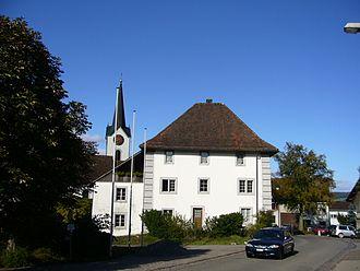 Ehrendingen - Ehrendingen village and town hall