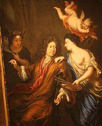 Ehrenstrahl self-portrait 1600s.   JPG