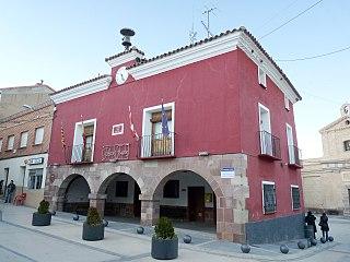 El Frasno municipality in Aragon, Spain
