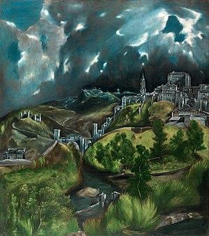 1600 in art - Image: El Greco View of Toledo