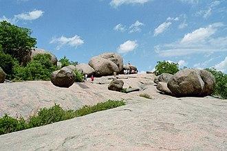 St. Francois Mountains - Elephant Rocks