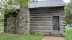 Elias Comstock Cabin rear of the cottage.jpg