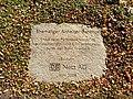Elise-Tilse-Park, Informationsplatte im Boden.jpg