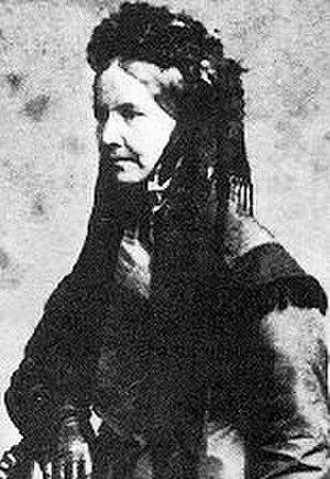 Ellen Nussey - Ellen Nussey in about 1855