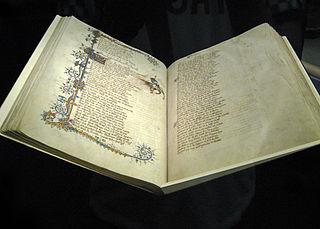 Ellesmere Chaucer manuscript