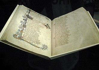 Ellesmere Chaucer - Ellesmere Manuscript in Huntington Library