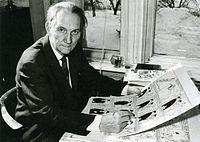 Elov Persson i midten af 1960'erne.