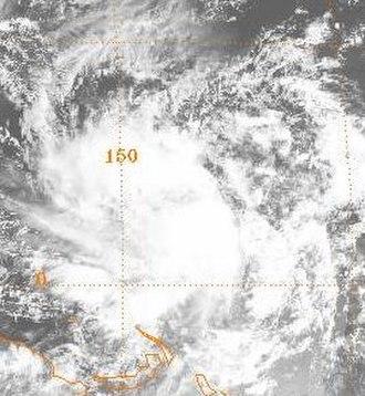1985 Pacific typhoon season - Image: Elsie 1985010700GMS3VS