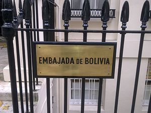 Embassy of Bolivia, London - Image: Embassy of Bolivia in London 2