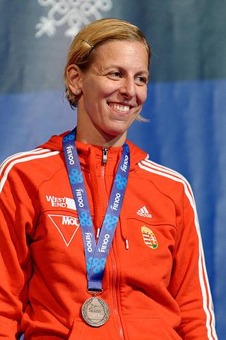 Emese Szász-Kovács - At the 2013 World Fencing Championships