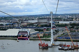Emirates (airline) - Emirates Air Line cable cars in London