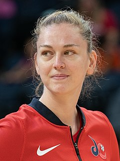 Emma Meesseman Belgian basketball player