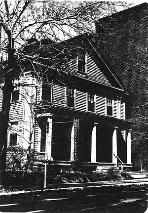 Emory Bannister House - c. 1977 photo