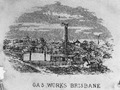 Engraving of the Brisbane Gas Company's gasworks, Petrie Bight, circa 1868.tiff