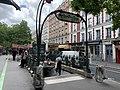 Entrée Station Métro Alexandre Dumas Paris 1.jpg
