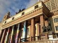 Entrada al edificio principal de la Universidad Estatal de Moscú.jpg