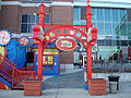 Entrance to Amazing Chicago's Funhouse Maze on Navy Pier 2009.jpg