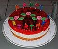 Erdbeer Jogurt Torte Geburtstagstorte.JPG