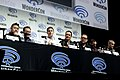 Eric Bauza, Tom Kenny, Yuri Lowenthal, Adam Croasdell, Fred Tatasciore, Tony Hale & Roger Craig Smith (41059626852).jpg