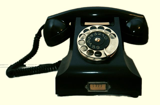 Telephones have been used for years for employees to be able to communicate with each other effectively.