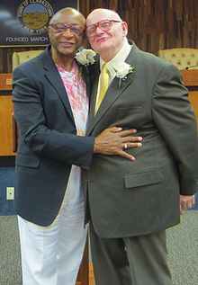 Ernest and Louie just married, 8-22-13.jpg