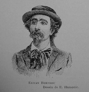 Erwan Berthou - Erwan Berthou, after a photograph by Émile Hamonic