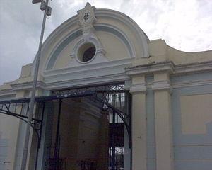 """Americana, São Paulo - The modern Santa Bárbara """"cultural station""""."""