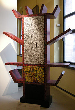 Ettore sottsass, libreria casablanca, 1981, Wikimedia commons