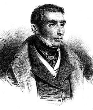 Eugène Scribe - Print of Eugène Scribe by Bernard-Romain Julien