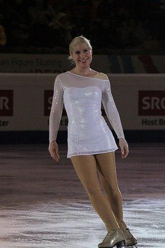 Denise Biellmann - Biellmann performing in the gala at the 2011 European Championships