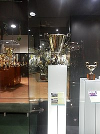 The UEFA Cup Winners' Cup won by Sporting at Museum Mundo Sporting