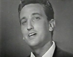 "Yugoslavia in the Eurovision Song Contest - Vice Vukov performing ""Čežnja"" in Naples"