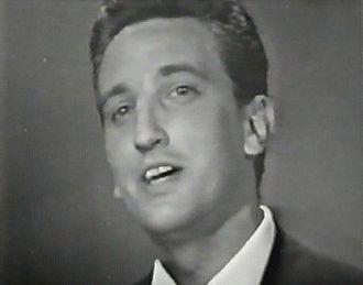 "Vice Vukov - Vice Vukov performing ""Čežnja"" at the Eurovision Song Contest 1965"
