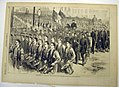 Evacuation Day Parade of First Division, New York State Militia, newspaper illustration MET MIDP2005.126.2.jpg